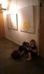 260811 Beige tulipan og Hvid orkide på udstilling i Borup Kulturhus 3.jpg