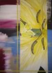 80 x 60 Råt/feminint - akryl
