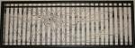 30 x 90 Abstration m. sort ramme - akryl