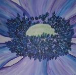 2013 100 x 100 Blå fransk anemone Akryl.JPG