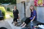 Mine to dejlige piger, Jeannie og Pi.