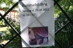 Plakat til udstilling d. 21.08.11