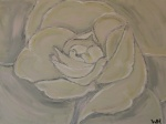 2008 Marts 60 x 80 Mit 2. maleri - Rose akryl og spartelmasse