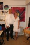 Kunstneren og min dejlige kæreste Helge