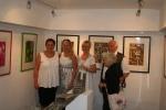 Galleriejer Marion Zimmerman, Kunstner Anna Heickmann, Kunstner Winnie Hestbæk, Kunstner Gerd Reutter og frue.
