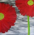 2013 100 x 100 2 røde gerbera Akryl.JPG